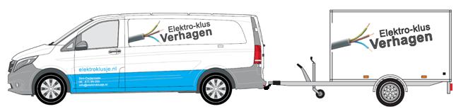 bedrijfsbus Elektroklus Verhagen
